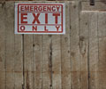 Loveland Feed and Grain Emergency Exit