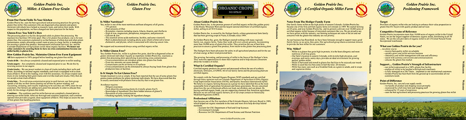 Golden Prairie Inc. sales brochure
