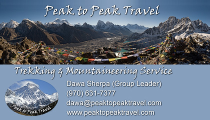 Peak to Peak Travel